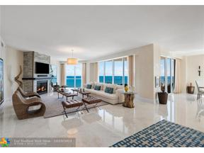 Property for sale at 1460 S Ocean Unit: PH1601, Lauderdale By The Sea,  Florida 33062