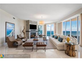 Property for sale at 1460 S Ocean Unit: 1601, Lauderdale By The Sea,  Florida 33062