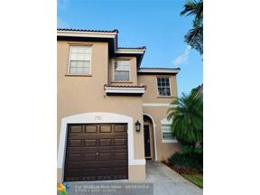 Property for sale at 770 NW 132nd Ave Unit: 770, Plantation,  Florida 33325