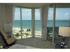 Property for sale at 4240 Galt Ocean Dr Unit: 905, Fort Lauderdale,  Florida 33308