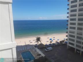 Property for sale at 3750 Galt Ocean Dr Unit: 804, Fort Lauderdale,  Florida 33308