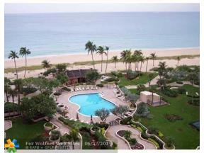 Property for sale at 5100 N Ocean Blvd Unit: 311, Lauderdale By The Sea,  Florida 33308