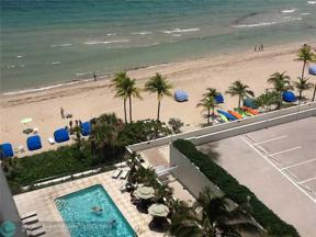 Property for sale at 3550 Galt Ocean Dr Unit: 1103, Fort Lauderdale,  Florida 33308