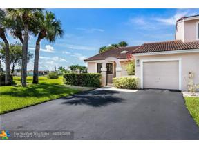 Property for sale at 16624 Greens Edge Cir Unit: 76, Weston,  Florida 33326