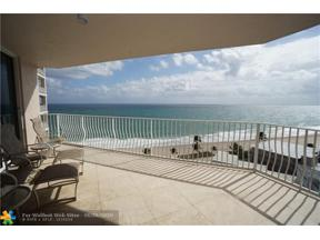 Property for sale at 1460 S Ocean Blvd Unit: 1101, Lauderdale By The Sea,  Florida 33062