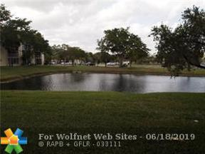 Property for sale at 3161 NW 47th Ter Unit: 116, Lauderdale Lakes,  Florida 33319