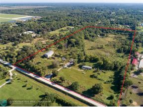 Property for sale at 3700 B Rd, Loxahatchee,  Florida 33470