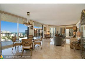Property for sale at 100 S Birch Rd Unit: 2302, Fort Lauderdale,  Florida 33316