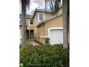 Property for sale at 1852 Salerno Cir Unit: 1852, Weston,  Florida 33327