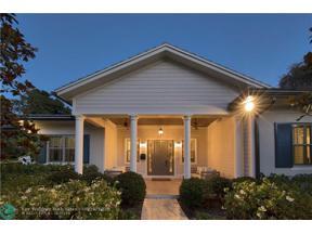 Property for sale at 1138 S Rio Vista Blvd., Fort Lauderdale,  Florida 33316