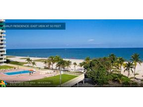 Property for sale at 730 N Ocean Bl Unit: 1501, Pompano Beach,  Florida 33062