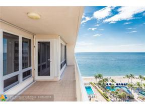 Property for sale at 4100 Galt Ocean Dr Unit: 1106, Fort Lauderdale,  Florida 33308