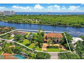 Property for sale at 1918 Intracoastal Dr, Fort Lauderdale,  Florida 33305