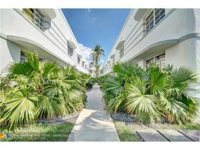 Property for sale at 1525 Pennsylvania Ave Unit: 6, Miami Beach,  Florida 33139