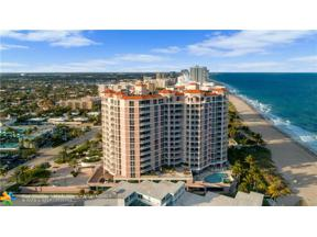 Property for sale at 1460 S Ocean Blvd Unit: 602, Pompano Beach,  Florida 33062