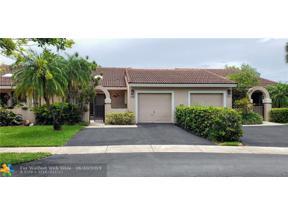 Property for sale at 16616 Greens Edge Cir Unit: 78, Weston,  Florida 33326