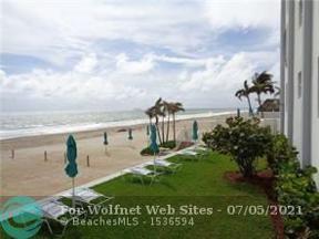 Property for sale at 3750 Galt Ocean Dr Unit: 409, Fort Lauderdale,  Florida 33308