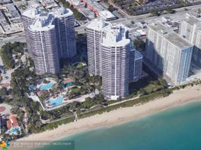 Property for sale at 3200 N Ocean Blvd Unit: F1105, Fort Lauderdale,  Florida 33308