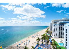 Property for sale at 4100 Galt Ocean Dr Unit: 1012, Fort Lauderdale,  Florida 33308
