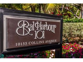 Property for sale at 10155 Collins Ave Unit: 501, Bal Harbour,  Florida 33154