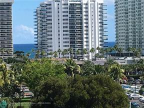 Property for sale at 3200 NE 36 Unit: 817, Fort Lauderdale,  Florida 33308