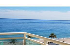 Property for sale at 3900 Galt Ocean Dr Unit: 504, Fort Lauderdale,  Florida 33308
