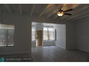 Property for sale at 1500 NE 6th Ct Unit: 1, Fort Lauderdale,  Florida 33304
