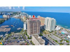 Property for sale at 100 S Birch Rd Unit: 1701, Fort Lauderdale,  Florida 33316