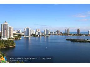 Property for sale at 3301 NE 183rd St Unit: 2109, Aventura,  Florida 33160