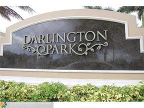 Property for sale at 9725 Darlington Pl Unit: 9725, Cooper City,  Florida 33328