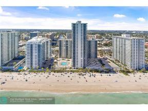 Property for sale at 3500 Galt Ocean Dr Unit: 714, Fort Lauderdale,  Florida 33308