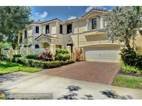Property for sale at 1585 Passion Vine Cir Unit: 10-1, Weston,  Florida 33326