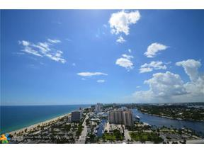 Property for sale at 100 S Birch Rd Unit: 2501, Fort Lauderdale,  Florida 33316