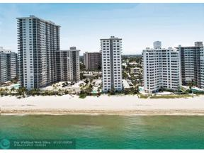 Property for sale at 3500 Galt Ocean Dr Unit: 809, Fort Lauderdale,  Florida 33308