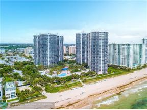 Property for sale at 3100 N Ocean Blvd Unit: 2501, Fort Lauderdale,  Florida 33308