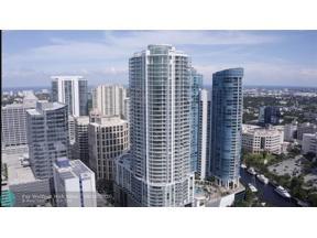 Property for sale at 100 E Las Olas Unit: 1804, Fort Lauderdale,  Florida 33301