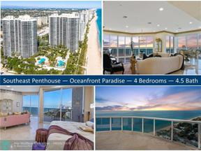 Property for sale at 3100 N Ocean Blvd Unit: PH2710, Fort Lauderdale,  Florida 33308