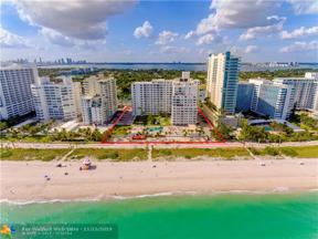 Property for sale at 5005 W Collins Ave Unit: 902, Miami Beach,  Florida 33140