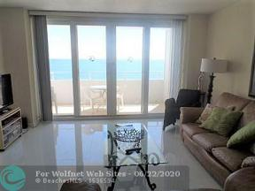 Property for sale at 4040 Galt Ocean Dr Unit: 604, Fort Lauderdale,  Florida 33308