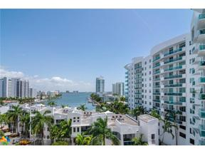 Property for sale at 7900 Harbor Island Dr Unit: 708, North Bay Village,  Florida 33141