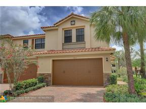 Property for sale at 13013 Riverwalk Cir Unit: 13013, Plantation,  Florida 33325