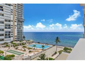 Property for sale at 4250 Galt Ocean Dr Unit: 7L, Fort Lauderdale,  Florida 33308