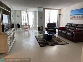 Property for sale at 1010 S Ocean Blvd Unit: 916, Pompano Beach,  Florida 33062