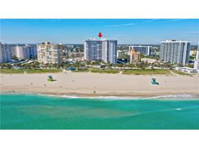 Property for sale at 405 N Ocean Blvd Unit: 829, Pompano Beach,  Florida 33062