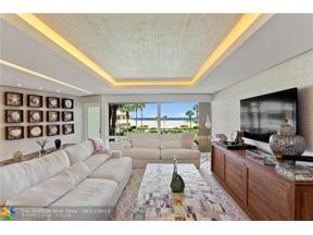 Property for sale at 2000 S Ocean Ln Unit: 203, Fort Lauderdale,  Florida 33316