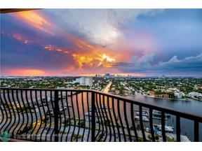 Property for sale at 100 S Birch Rd Unit: 2205, Fort Lauderdale,  Florida 33316