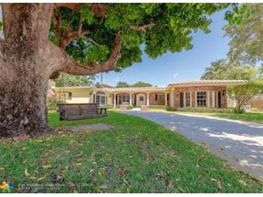 Property for sale at 1414 Coral Ridge Drive, Fort Lauderdale,  Florida 33304
