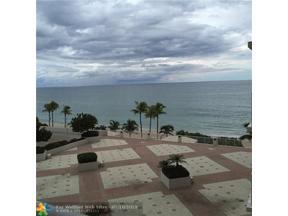 Property for sale at 3500 Galt Ocean Unit: 415, Fort Lauderdale,  Florida 33308