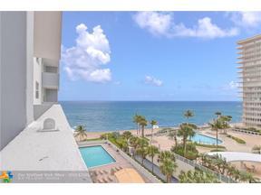 Property for sale at 4250 Galt Ocean Dr Unit: 6K, Fort Lauderdale,  Florida 33308