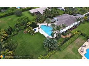 Property for sale at 3712 Churchill Downs Dr, Davie,  Florida 33328